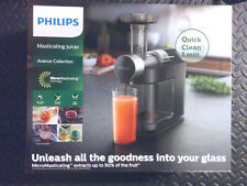 [Brand New] Philips HR1895 Avance Micro Masticating Juicer - Black