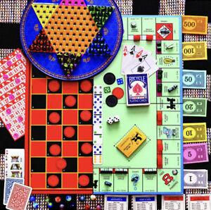 500 Pc Jigsaw Puzzle BOARD GAMES Springbok Monopoly Uno Checkers+ SEALED NEW USA