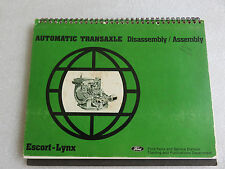 1981 Ford Escort Lynx Automatic Transaxle Service Repair Manual OEM Factory