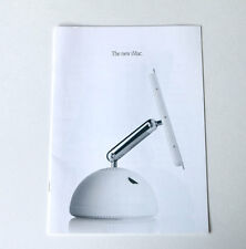 Apple Mac iMac G4 2002 Original Brochure Advertizement Booklet with prices