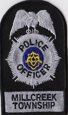 Millcreek TWP Police Officer Police Patch Pennsylvania PA