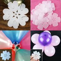 2/5/10x fleur de ballon clip cravates bâton décoratif N tasses ballons plus IU