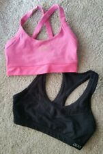 LORNA jane sports bra XS x2 and Rockwear Singlet Top s. Mesh Hoodie Crop top lot