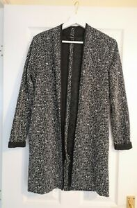 Next Black & White Polka Dot Top Cardigan Jacket