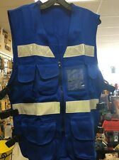 1605 JLS Safety Vest Royal Blue One Size Fits All