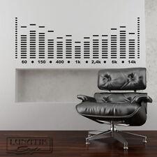 Wandtattoo Wandaufkleber Music Graphic Equalizer - WE41