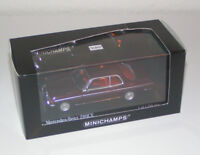 Mercedes-Benz W 123 Coupe 280 CE Pajettrot / red metallic - Minichamps 1:43