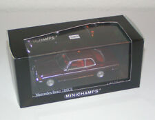 Mercedes-Benz W 123 Coupe 280 CE Pajettrot / red metallic - Minichamps 1:43!