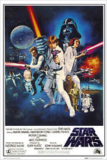 STAR WARS A New Hope Original Score POSTER 61x91cm NEW * Skywalker Vader Obi-wan