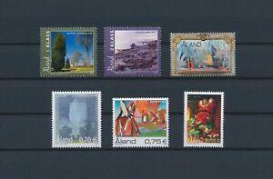 LN22460 Aland mixed thematics nice lot of good stamps MNH