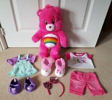 RAINBOW CARE BEAR clothes BUILD A BEAR accessories PLUSH shoes DRESS soft toy
