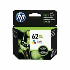 Cartucho de tinta original HP 62XL de alta capacidad tricolor C2P07AE