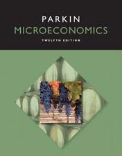 Parkin Microeconomics 12th Twelfth Edition by Michael Parkin (2015, Paperback)