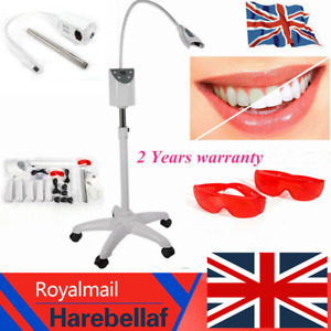 Dental Mobile Teeth Whitening Accelerator LED Bleaching Tooth Bleaching Lamp UK