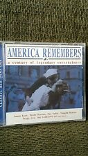 NEW Armed services C/D Big band Era Songs America Remembers 10 Military songs