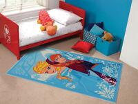 Disney Frozen Princess Elsa Anna Play Mat Rug Children Anti Slip Washable Carpet