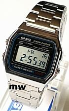 Genuine Casio Retro Vintage Digital Alarm Stopwatch unisex Watch A158W A158WA-1