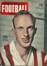 CHARLES BUCHAN'S FOOTBALL MONTHLY OCTOBER 1956 ~ ASTON VILLA / WEST BROMWICH