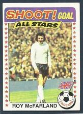 TOPPS 1976 FOOTBALLERS #135-ENGLAND & DERBY COUNTY-ALL STAR-ROY McFARLAND