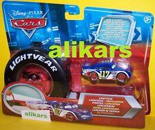 E -Lightyear Launchers LIL' TORQUEY  Starter +Pistons Cup racer #117 Disney Cars