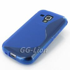 Gel TPU Rubber Silicone Skin Cover Case for Samsung Galaxy S Duos 2, S7582 . EB