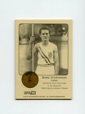 #LK.1134 BABE DIDRIKSON 1932 Wheat Penny Insert Trade Card RARE