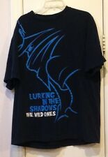 The Wild Ones - Lurking in the Shadows TWO Size XL black Tshirt Used