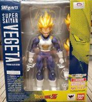 S.H. Figuarts Dragon Ball Z Super Saiyan Vegeta Premium Color Edition Bandai
