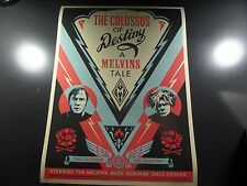Shepard Fairey - The Colossus of Destiny: A Melvins Tale - Obey Giant - 2017