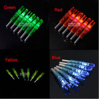6.2mm Hunting Shooting Archery  Led Lighted Nock Compound Bow Arrow Nocks Tails