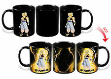 Dragon Ball Z SSJ Gogeta Heat Reactive Colour Changing Ceramic Mug