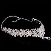 Crystal Rhinestone Fashion Accessories Headpiece Fashion Jewelry Frontlet