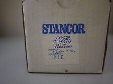 Stancor Control Transformer P-6378 Pri 115/230V Single Phase Sec 12V 4A (NEW)