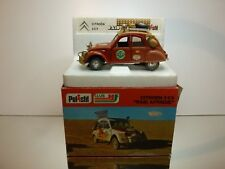 POLISTIL S30 CITROEN 2CV RAID AFRIQUE - RED 1:25 - VERY GOOD CONDTION IN BOX