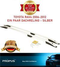 TOYOTA RAV4 2006-2012 Aluminium Dachgepäckträger Silber NEU