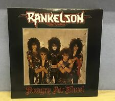RANKELSON Hungry For Blood 1986 UK Vinyl LP EXCELLENT CONDITION Tigertailz