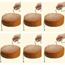 Adjustable Wire Cake Slicer Cutter Leveller Decorating Bread Wire Decor Tool EW