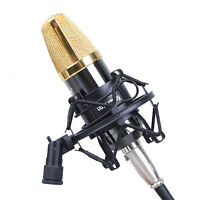 Professional 50MM Microphone Shock Mount Black Universal Studio Sound Recording