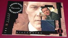 X-Files Season 8 Trading Cards Pieceworks Card PW2 Doggett Tie Swatch Inkworks