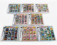More Cartridge Game Cart in 1 Games For DS NDS NDSL NDSi 2DS 3DS All System