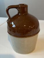 Vintage Miniature Stoneware Crock / Jug - 5 Inches Tall