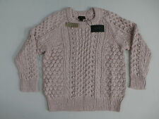 J.Crew Women's Collection Silk-Cashmere Handknit Popcorn Sweater Size Large NWT