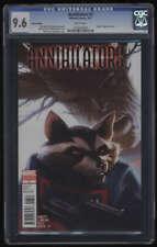 Annihilators #3 CGC 9.6 W Pages Djurdjevic Variant Cover Origin Rocket Raccoon