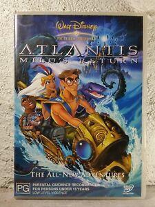 ATLANTIS - MILOS RETURN (DVD) Kids Movie - WALT DISNEY Region 4 Australia