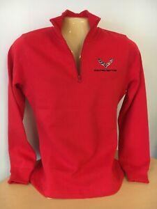 Corvette C7 Ladies Quarter 1/4 Zip Sweatshirt