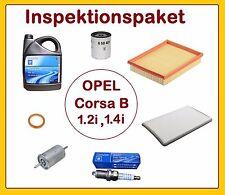Inspektionspaket OPEL CORSA B 1.2i 45PS (C12NZ,X12SZ) 10W40,Ölfilter,Kerzen