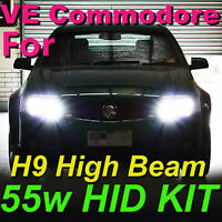 H11 H9 6000K HID KIT FOR HOLDEN VE COMMODORE SSV SS SV6 HSV HIGH BEAM SERIES 1,2