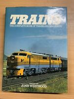 "5027cmTRAINS - Completo Libro De Trains & Ferrocarriles"" Pesado Tapa Dura ( Xx)"