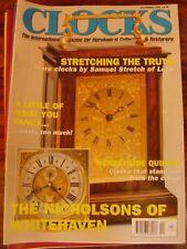 CLOCKS MAG DEC 1999 NICHOLSON WHITEHAVEN CHADWICK EDWARD EVANS LIVERPOOL