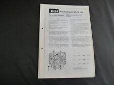 Original Service Manual WEGA  141